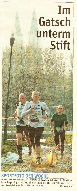 Aupark Crosslauf, Robert Glaser